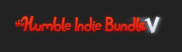 Humble Indie Bundle 5 Banner