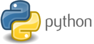 Python logo and name